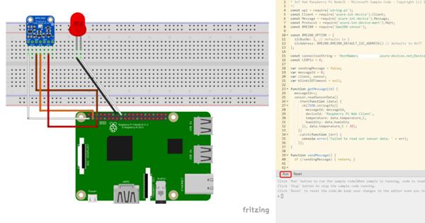 Raspberry PiとMicrosoft Azureを連携してIoTを活用しよう