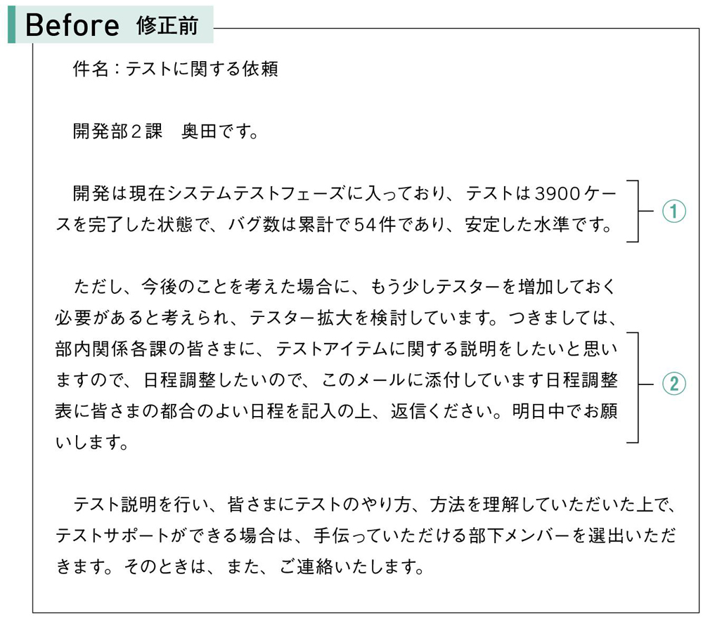 Before 修正前