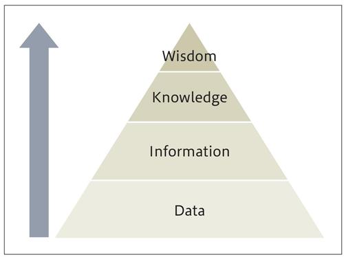 図1.8 DIKWピラミッド