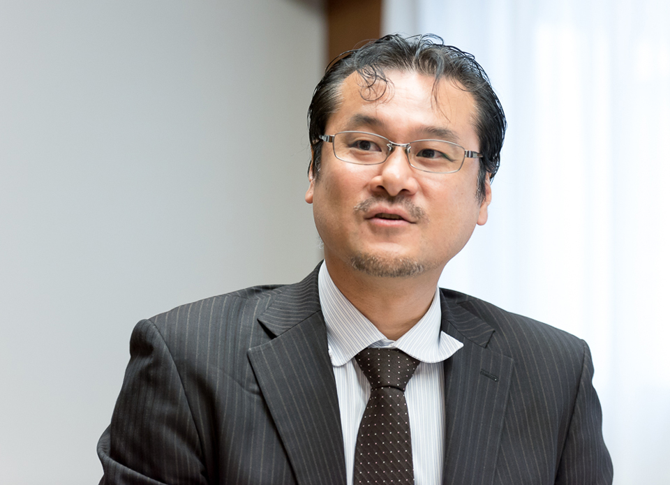 (ISC)<sup>2</sup> Director of Business Development, Japan 小熊慶一郎氏